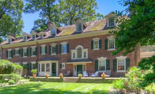c.1904 Georgian Colonial by Architect John Hall Rankin in Philadelphia Reduced to $1.3M (PHOTOS)