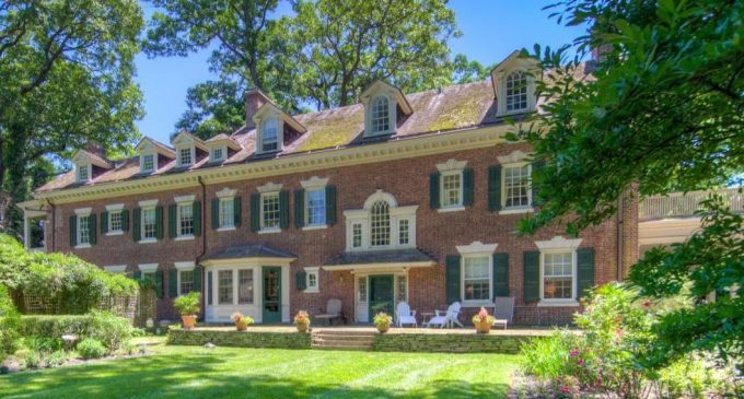 c.1904 Georgian Colonial by Architect John Hall Rankin in Philadelphia Reduced to $1.3M (PHOTOS)
