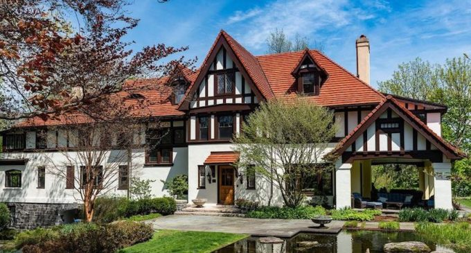 c.1909 Everett N. Blanke House in Greenwich, CT Reduced to $3.9M (PHOTOS & VIDEO)