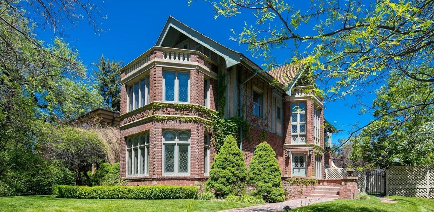 c.1912 Tudor by Architect Jacques Benedict in Denver CO Reduced to $3.6M (PHOTOS)
