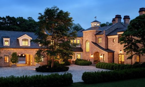 Tom Brady Lists $40M Richard Landry Designed Manor in Brookline, MA (PHOTOS)