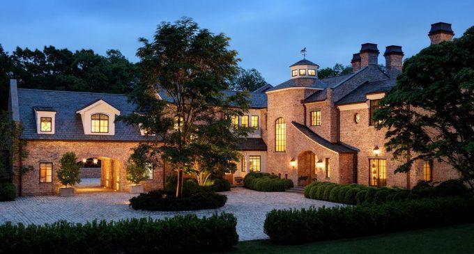 Tom Brady Lists $40M Richard Landry Designed Manor in Brookline, MA (PHOTOS)