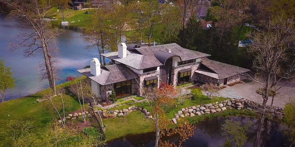 Transitional Dream Home on Michigan's Lower Long Lake Reduced to $3.2M (PHOTOS & VIDEO)