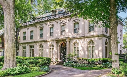 Elegant c.1915 Louis Kamper House in Detroit's Historic Indian Village for $1.3M (PHOTOS)