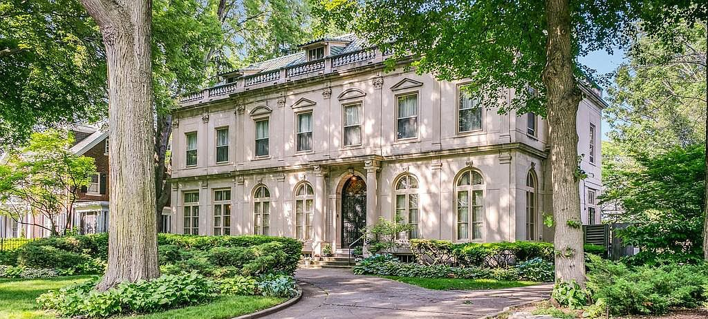 Elegant c.1915 Louis Kamper House in Detroit's Historic Indian Village Sells for $1.15M (PHOTOS)