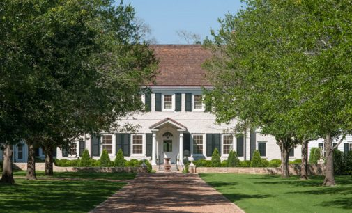 100 Acre Longwood Farm by Curtis & Windham Architects and Interior Designer Ginger Barber (PHOTOS)