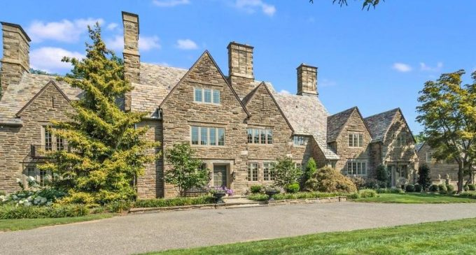 c.1928 Stone Manor on 2.41 Acres in Meadowbrook, PA Reduced to $1.4M (PHOTOS)