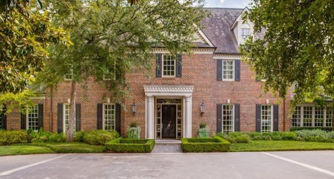 Classic Georgian in Old Preston Hollow Reduced to $6.96M (PHOTOS)