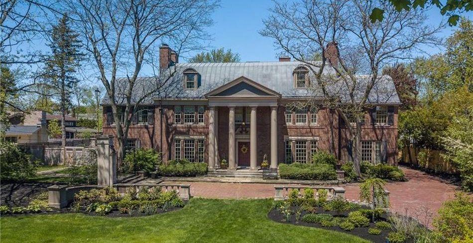 c.1932 Brick Mansion in Buffalo, NY Reduced to $1.75M (PHOTOS)