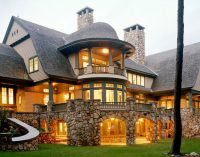 18,500 Sq. Ft. Lakeside Manor Designed by TMS Architects Sells for $7.7M (PHOTOS & VIDEO)