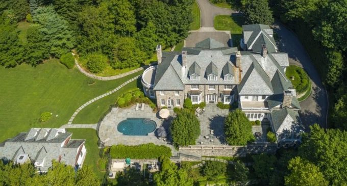 Classic Stone Georgian on 15 Acres in Conyers Farm for $12.5M (PHOTOS)
