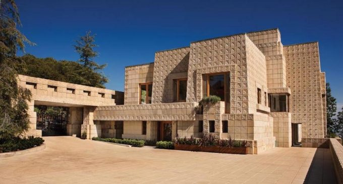 Frank Lloyd Wright's Landmark Ennis House Sells for $18M in Los Angeles (PHOTOS)