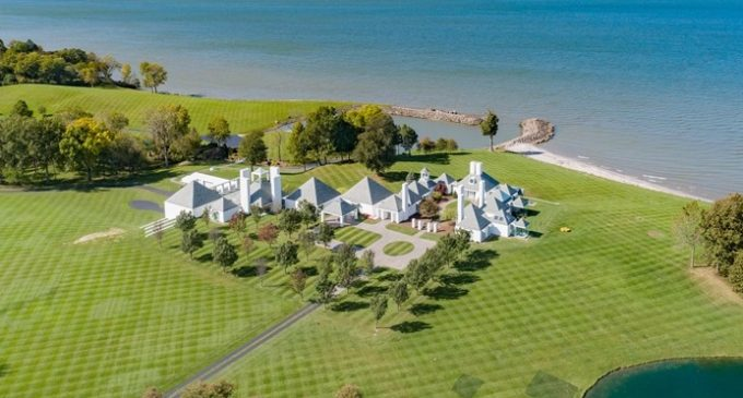 Ohio's Iconic 160 Acre Waterwood Estate by Hugh Newell Jacobsen Reduced to $5.7M (PHOTOS & VIDEO)