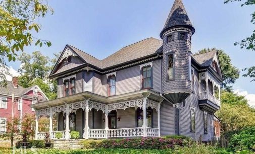 c.1886 Victorian Fischer House in Atlanta, GA Lists for $1.1M (PHOTOS)