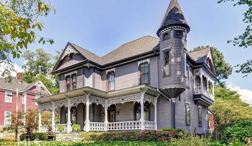 c.1886 Victorian Fischer House in Atlanta, GA Reduced to for $1M (PHOTOS)