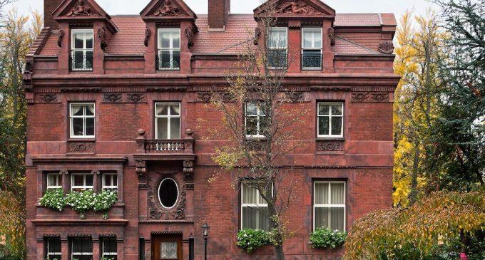 Philadelphia's Historic c.1895 Furness Mansion Harkens Back to a Bygone Era (PHOTOS)