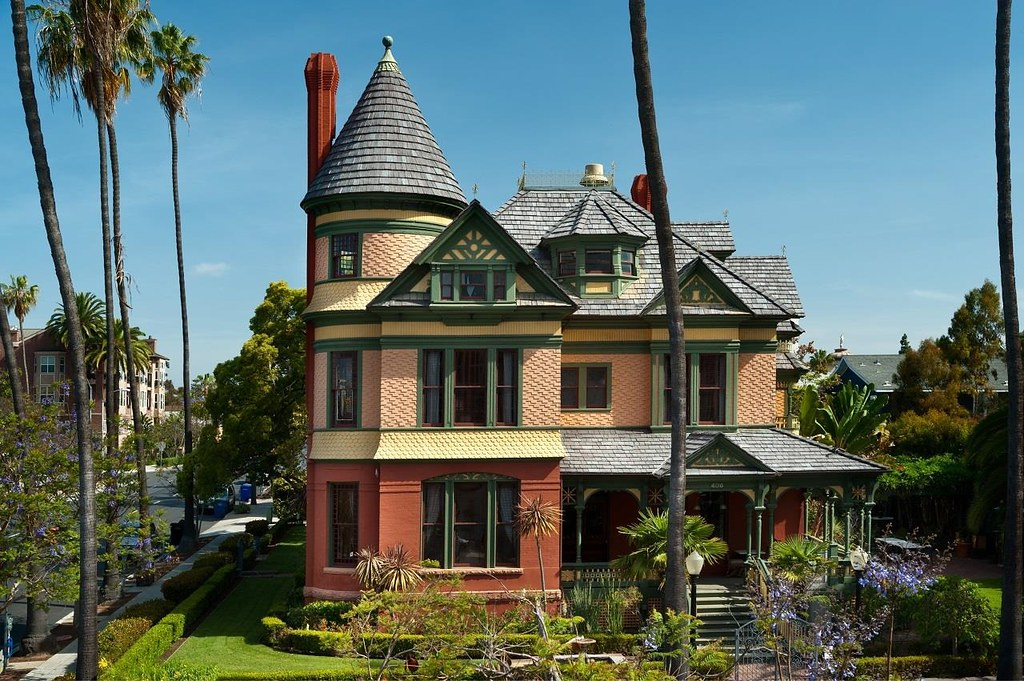 San Diego's Historic c.1887 Britt Scripps Manor to Ask $5.5M (PHOTOS)