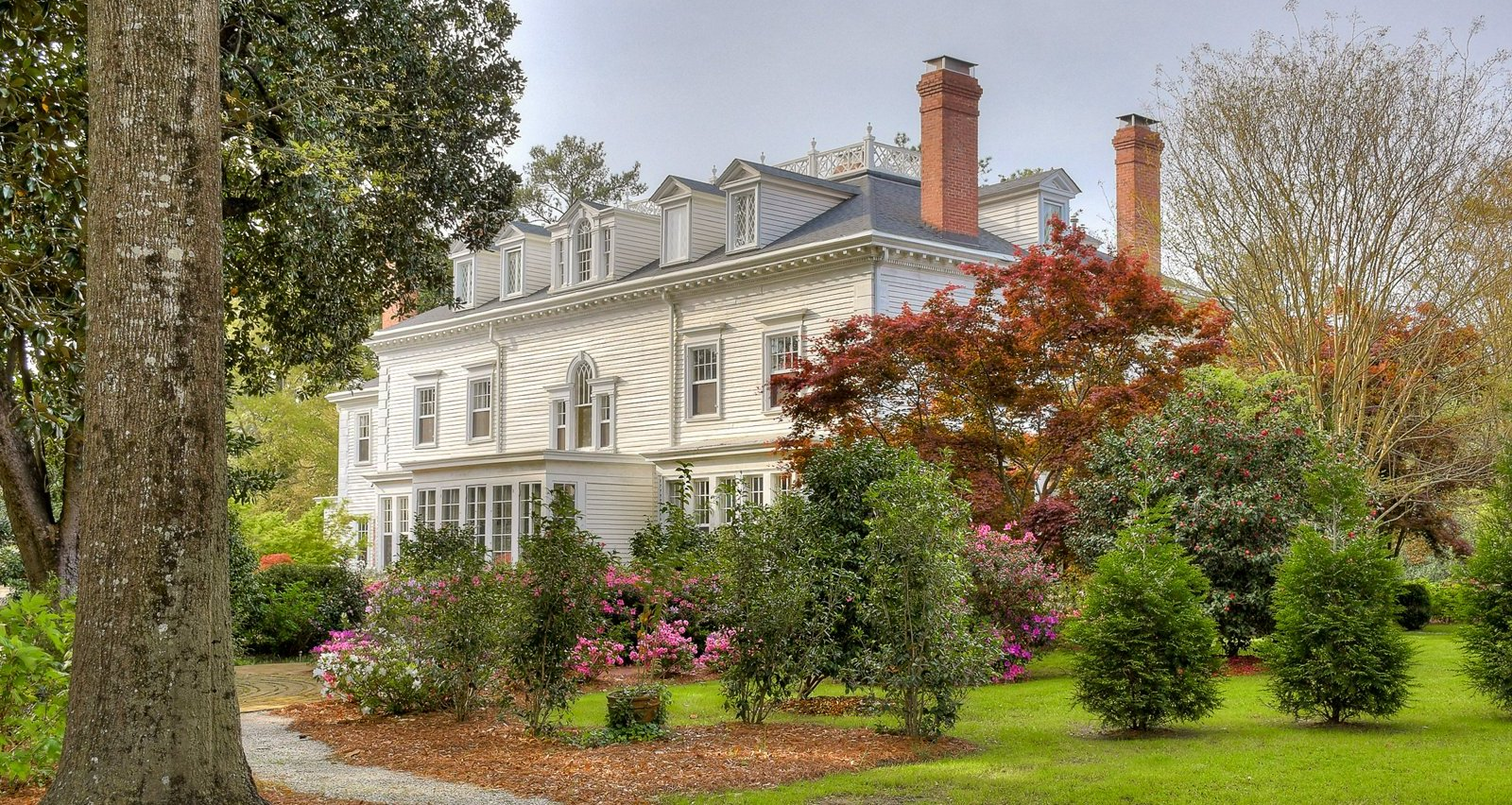 c.1887 Neoclassical in Aiken's Winter Colony Historic District I for $2.5M (PHOTOS)