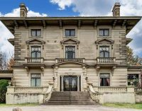 c.1908 Herschede Mansion by Architect Samuel S. Godley Lists in Ohio for $599K (PHOTOS)