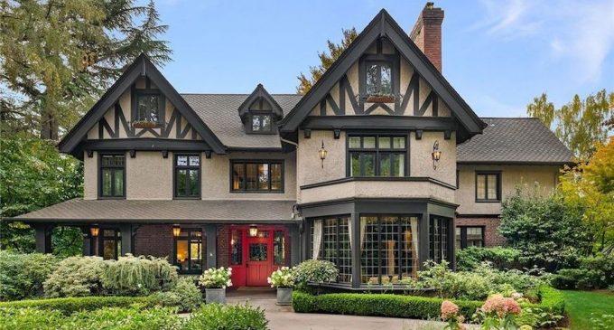 c.1910 Tudor Revival Lists in Seattle's Harvard-Belmont Landmark District for $4.25M (PHOTOS)