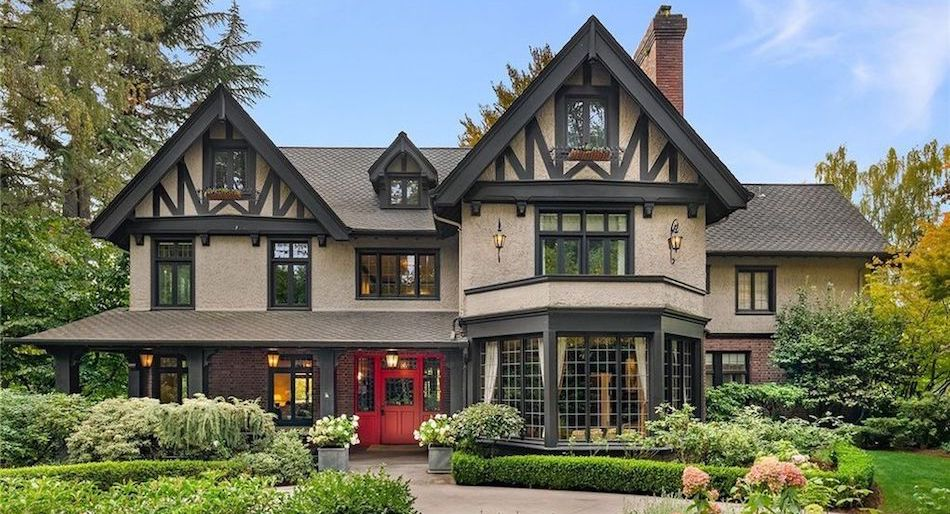 c.1910 Tudor Revival in Seattle's Harvard-Belmont Landmark District Sells for $3.8M (PHOTOS)