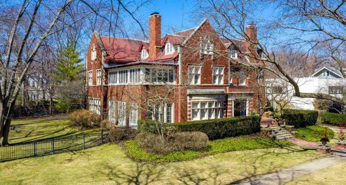 Historic c.1911 Mayo & Mayo Designed Tudor Revival in Evanston, IL Reduced to $2.4M (PHOTOS)