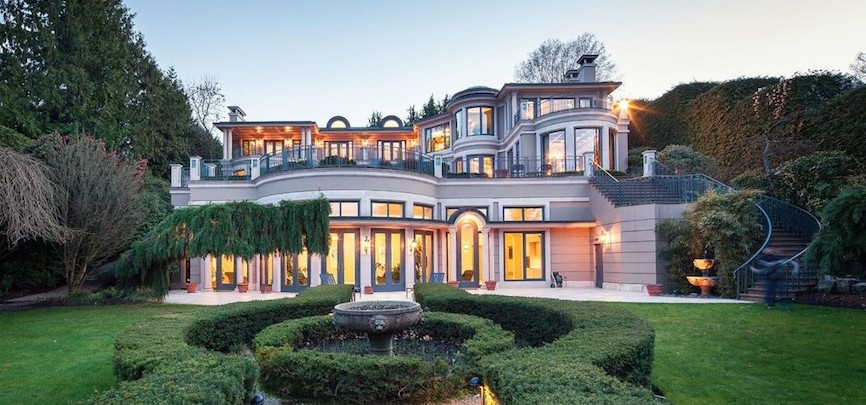 Vancouver Billionaire Joe Segal's Belmont Estate Reduced to $58M (PHOTOS & VIDEO)