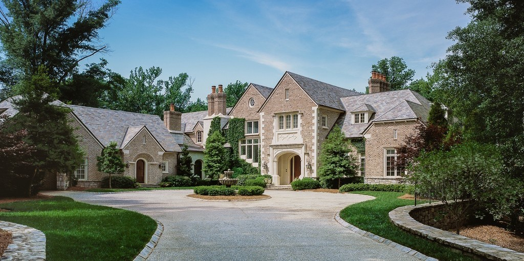 Brick Tudor Revival on 5.5 Acres by Harrison Design Reduced to $6.5M (PHOTOS)
