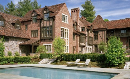 Historic 1930s Earl Major Estate in Newton, MA (PHOTOS)