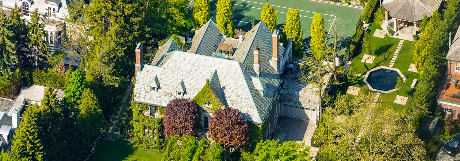 Peter Munk's Former $25M Stone Mansion in Toronto Razed for Modern Mansion (PHOTOS)