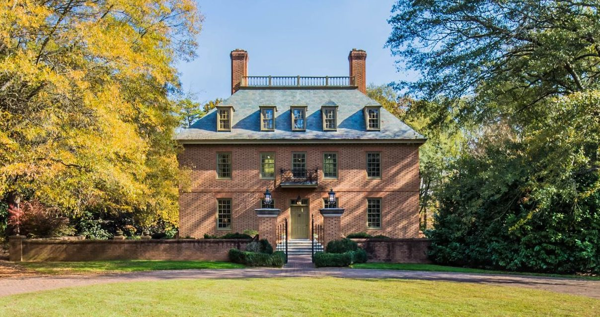 Handsome Georgian Revival on 7-Acres in Spartanburg, SC Drops to $750K (PHOTOS & VIDEO)