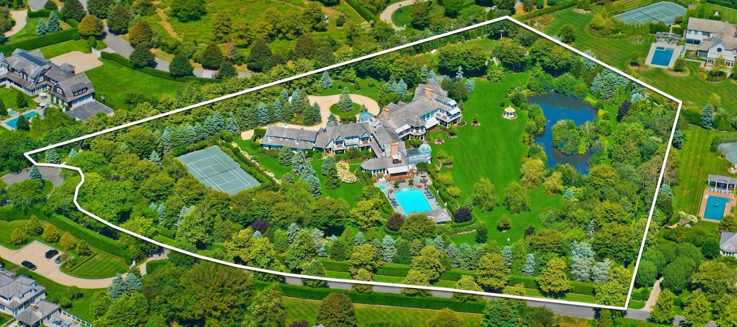 6-Acre Southampton Estate with 16,700 Sq. Ft. Shingle-Style Mansion Reduced to $28M (PHOTOS & VIDEO)