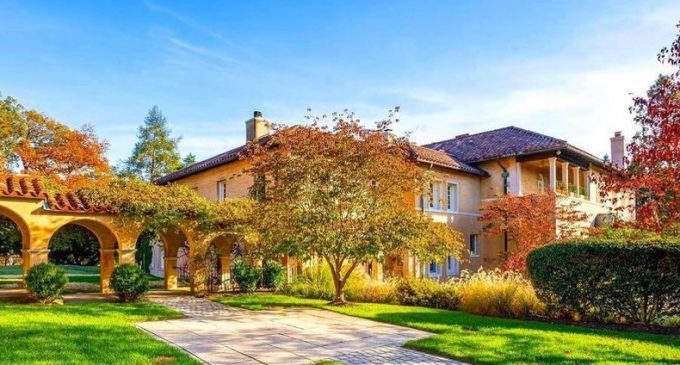 Historic c.1925 Villa with Private Chapel in Potomac for $4.45M (PHOTOS & VIDEO)