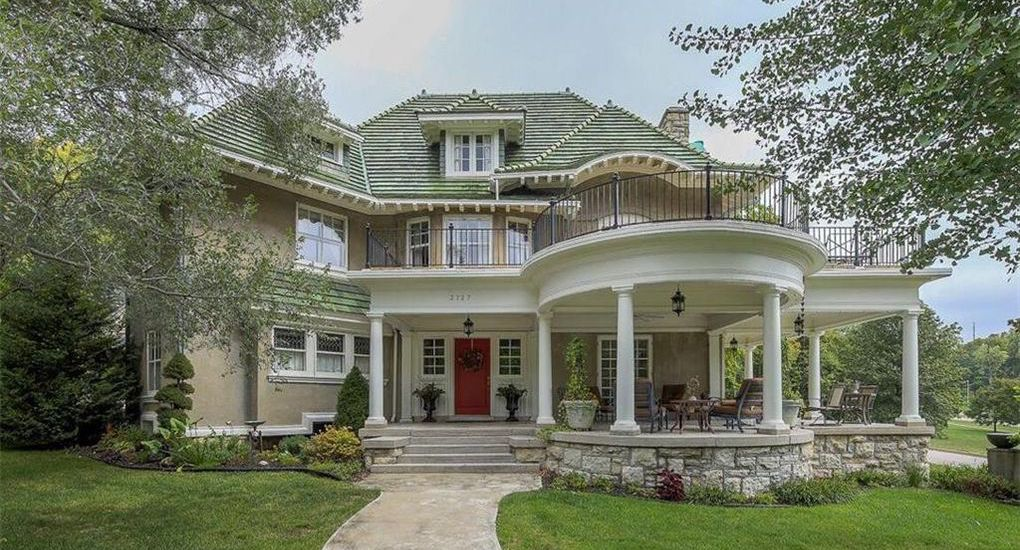 Landmark 'Emerald on the Hill' in Kansas City Reduced to $800K (PHOTOS)