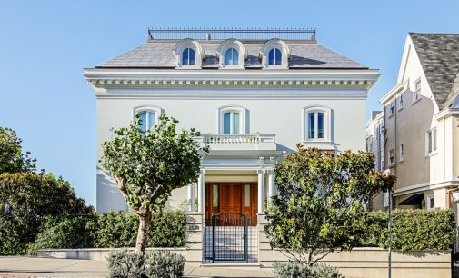 c.1920 Traditional Pacific Heights Mansion with Auto Gallery for $32M (PHOTOS)