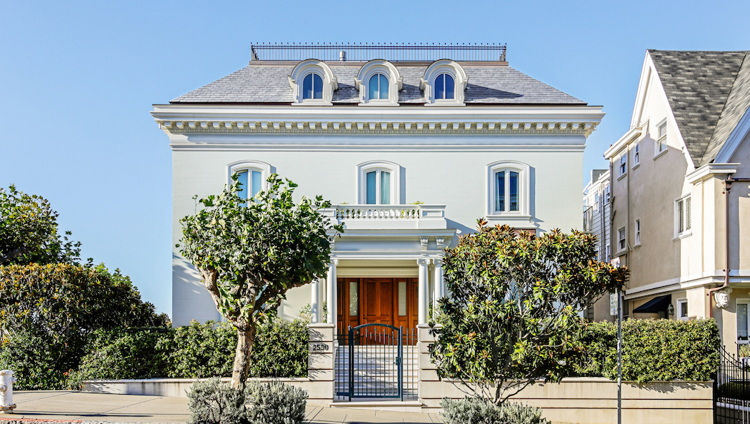 c.1920 Traditional Pacific Heights Mansion with Auto Gallery Reduced to $28.8M (PHOTOS)