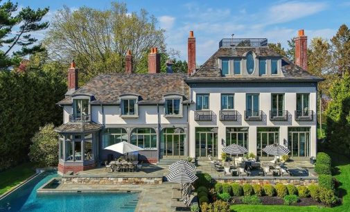 Westport Compo Beach Manor Overlooking Long Island Sound Drops to $10.8M (PHOTOS & VIDEO)