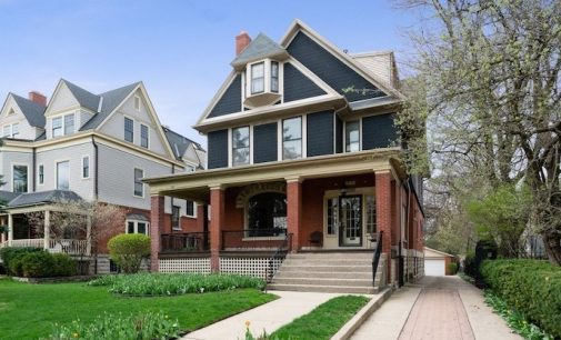 c.1890 Charles Hawkins House in Chicago's Kenwood Neighbourhood for $2.25M (PHOTOS)