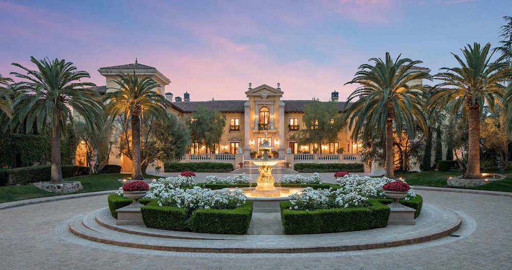 Billionaire Asking $165M for Beverly Park's Villa Firenze (PHOTOS)