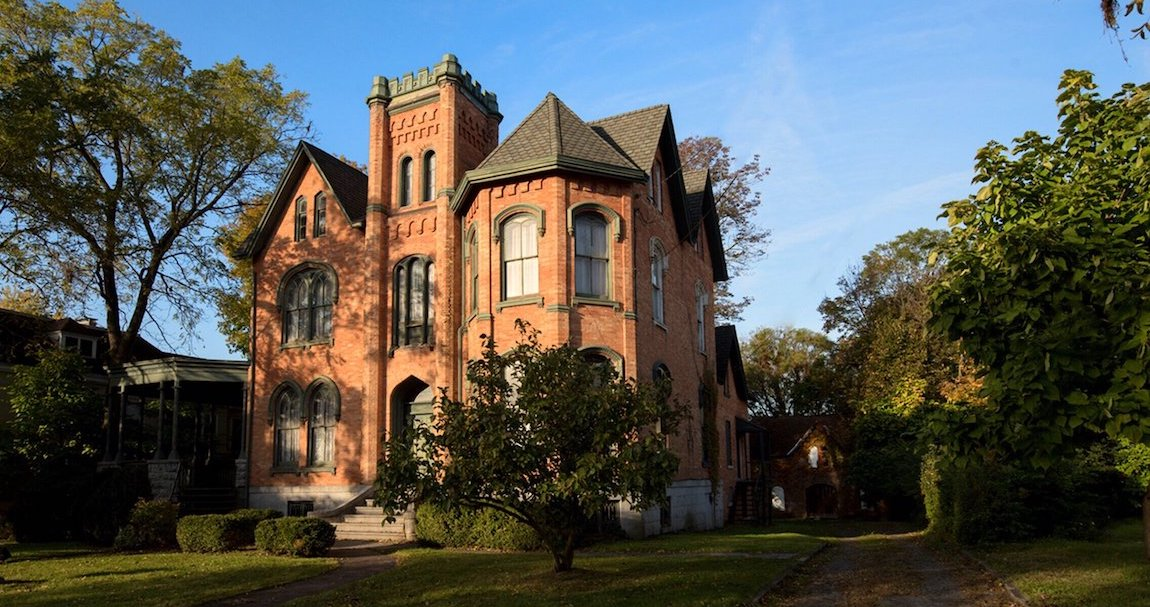 c.1861 James Seymour Mansion Pending Sale for $50K (PHOTOS)