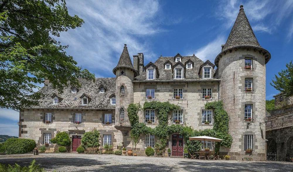 Château de Courbelimagne in Raulhac, France for €1.3M (PHOTOS)