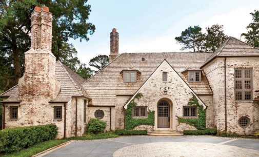 American English Residence in Atlanta's Posh Buckhead by Architect Peter Block (PHOTOS)