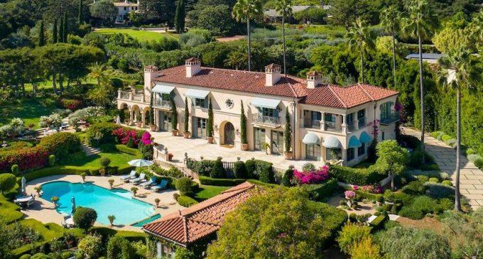 Casa Leo Linda | Mediterranean Villa Lists for $15.8M in Santa Barbara (PHOTOS)