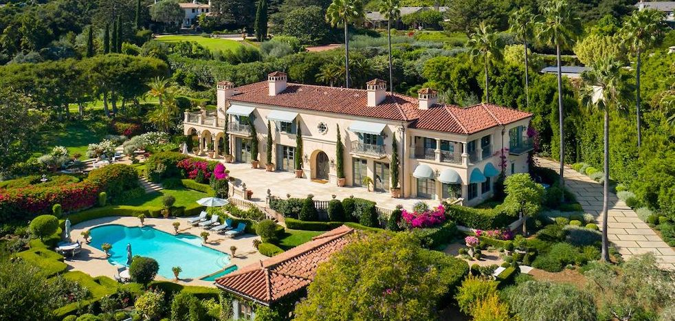 Casa Leo Linda | Mediterranean Villa Lists for $15.8M in Santa Barbara (PHOTOS)