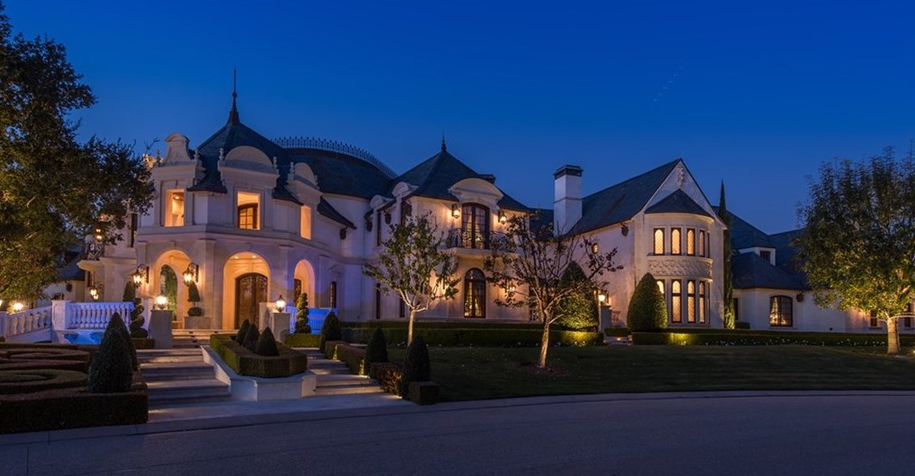 Furnished $32M French Château Hits the Market in Calabasas (PHOTOS)