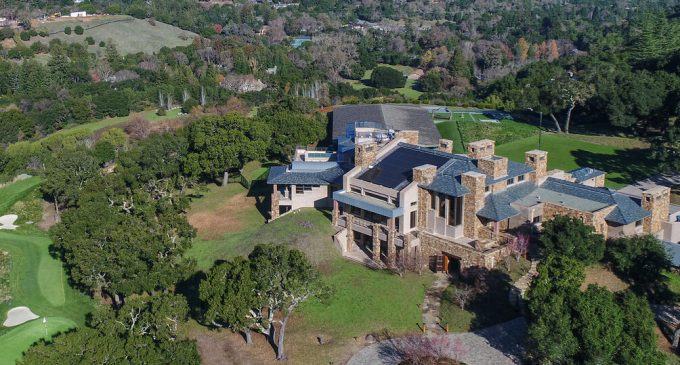 Tech Billionaire Scott McNealy's 13 Acre Portola Valley Estate Includes Hockey Rink for $53.8M (PHOTOS)