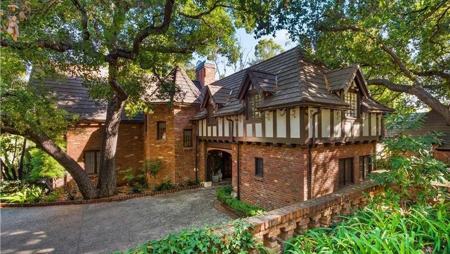 First Time Available in 40 Years! c.1939 Tudor Revival Lists in Pasadena for $5.5M (PHOTOS)