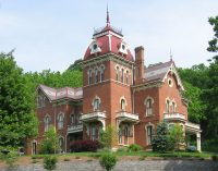 Vevay, Indiana's c.1874 Benjamin Schenck Mansion (PHOTOS & VIDEO)