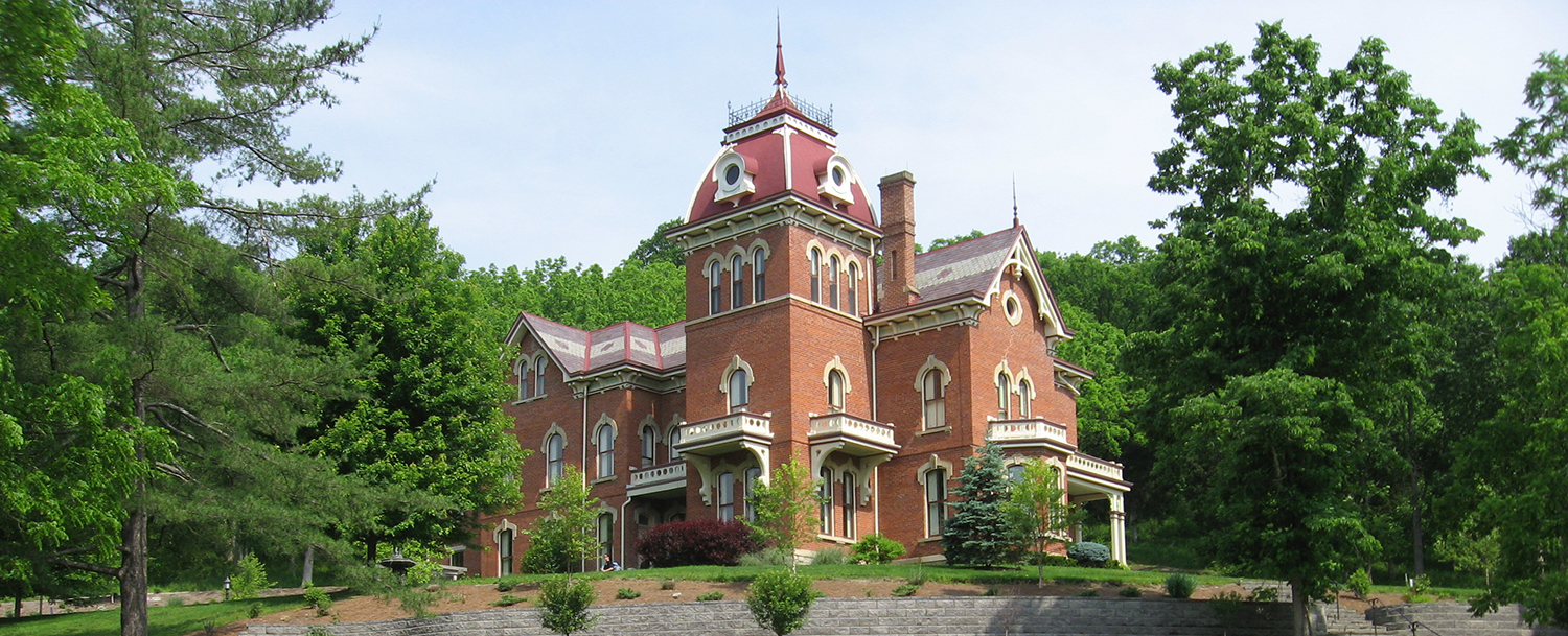 Vevay, Indiana's c.1874 Benjamin Schenck Mansion (PHOTOS & VIDEO)