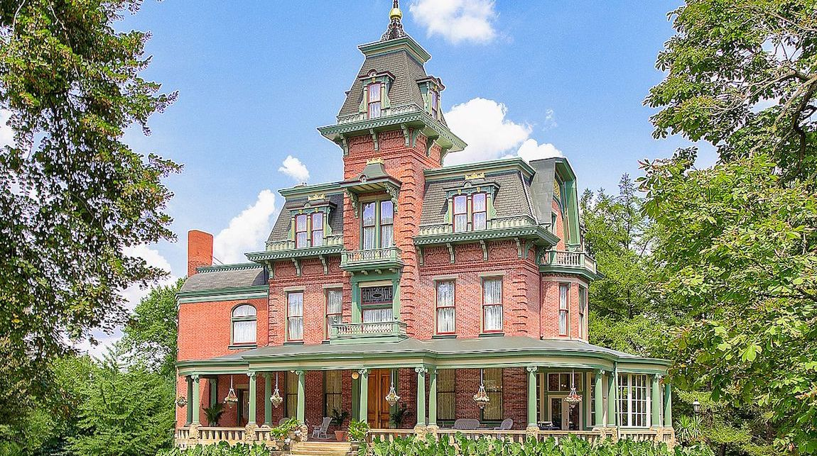 Restored c.1880 Baywood Gilded Age Mansion Lists in Pittsburgh for $3.65M (PHOTOS)